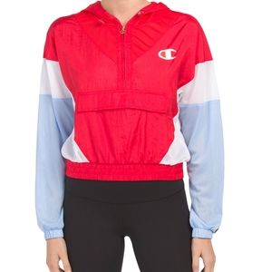 Champion Warm Up Jacket Red